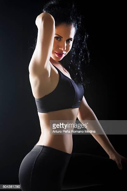 Femme athlète