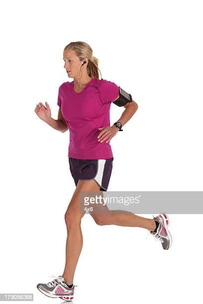 Sportlerin Laufen