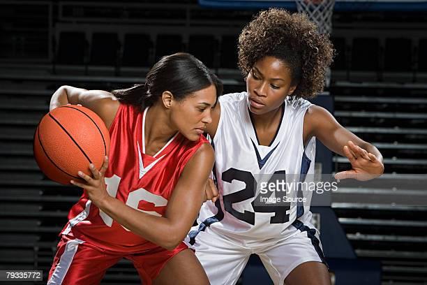 Weibliche basketball player