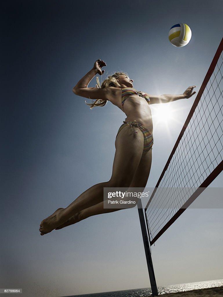 Female Beach Volleyball