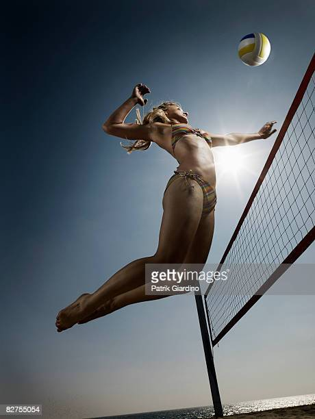 Female Beach Volleyball