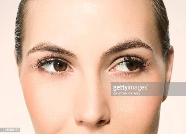 Female beauty, close up
