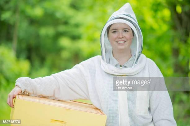 Female Beekeeper