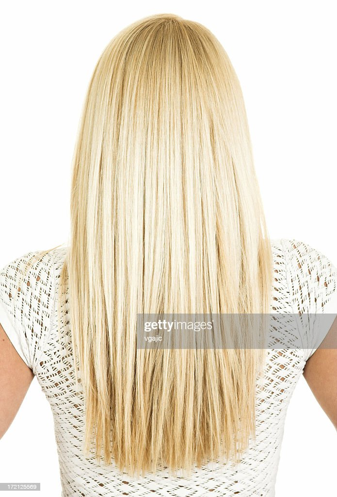 Female Blonde long hair