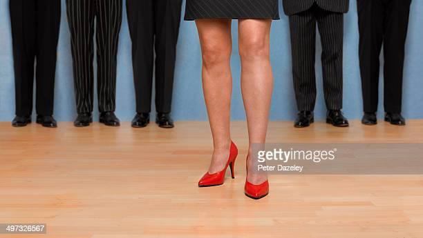 Female boss/team leader