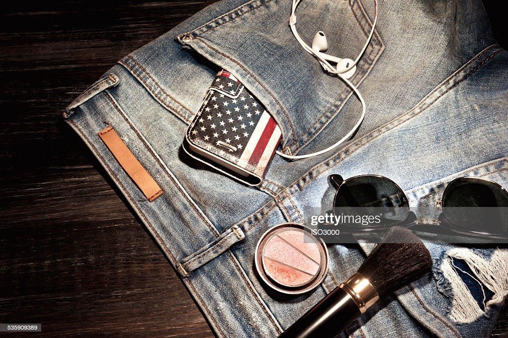 Mujer de ropa y accesorios : Foto de stock