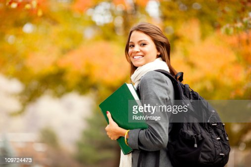 Female College Student : Stock Photo