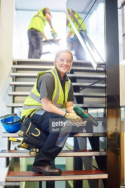 female contractor portrait