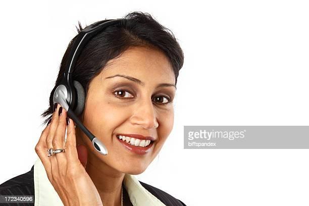 Représentant du Service clientèle féminine