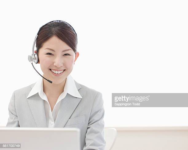 Female Customer Service Representative