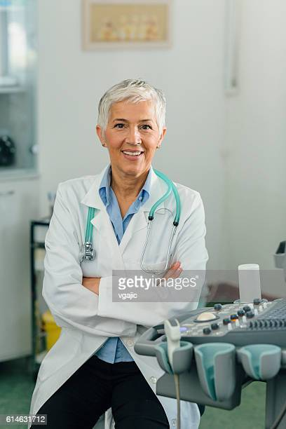 Female Doctor In Her Office.