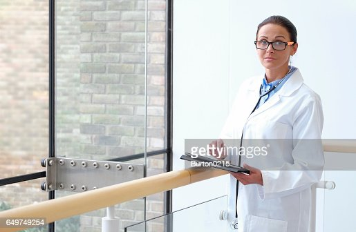 female doctor in medical center : Photo