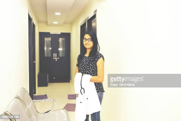 Female Doctor in the Medical Clinic