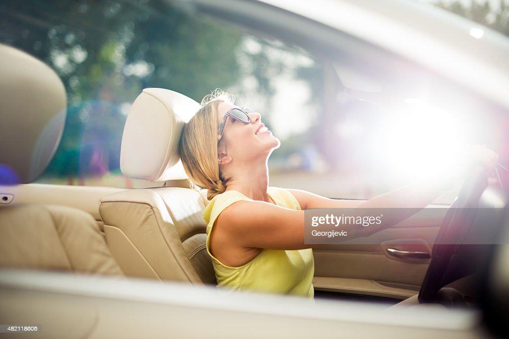 Female driver : Stock Photo
