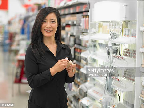 Female employee smiling for the camera