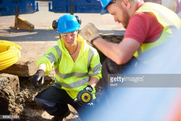 female engineer trainee