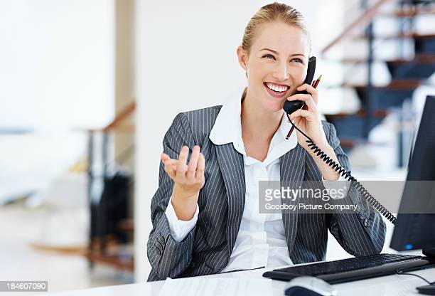 Female executive at work