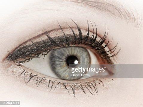 female eye : Stock-Foto