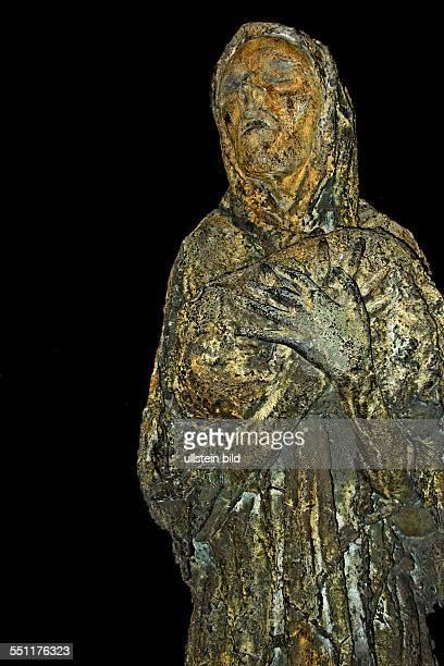 Female Famine figure Dublin Republic of Ireland Europe