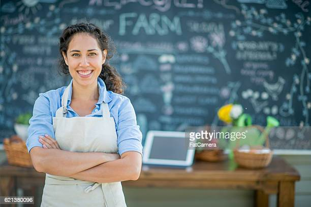 Female Farmer and Entrepreneur