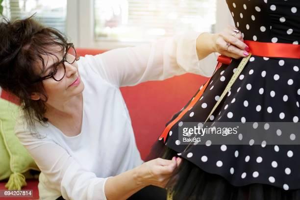 Female fashion designer