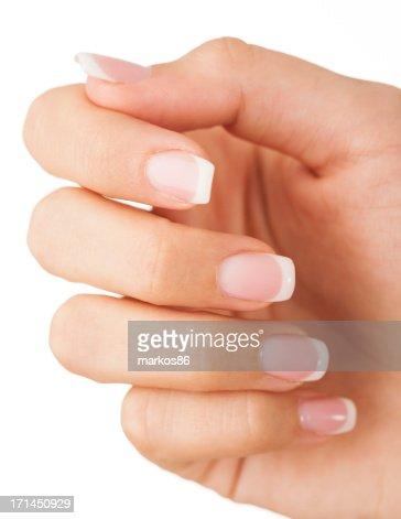 Female fingernails