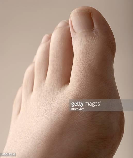 Female foot, close up