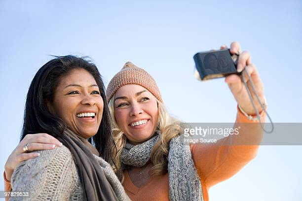 Female friends taking a picture