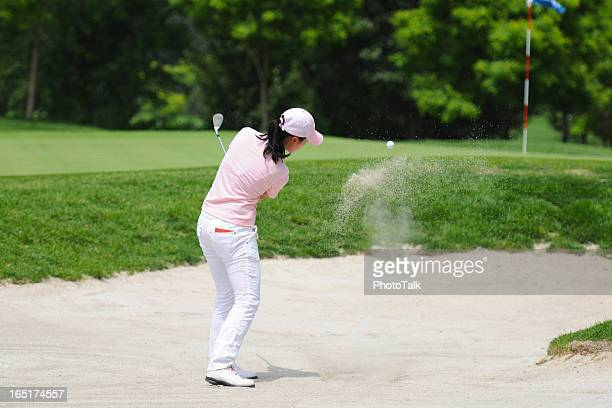 Female Golfer and Golf Sport