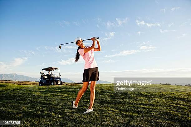 女子ゴルファー