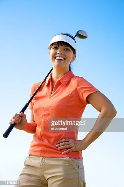 Femme de golf