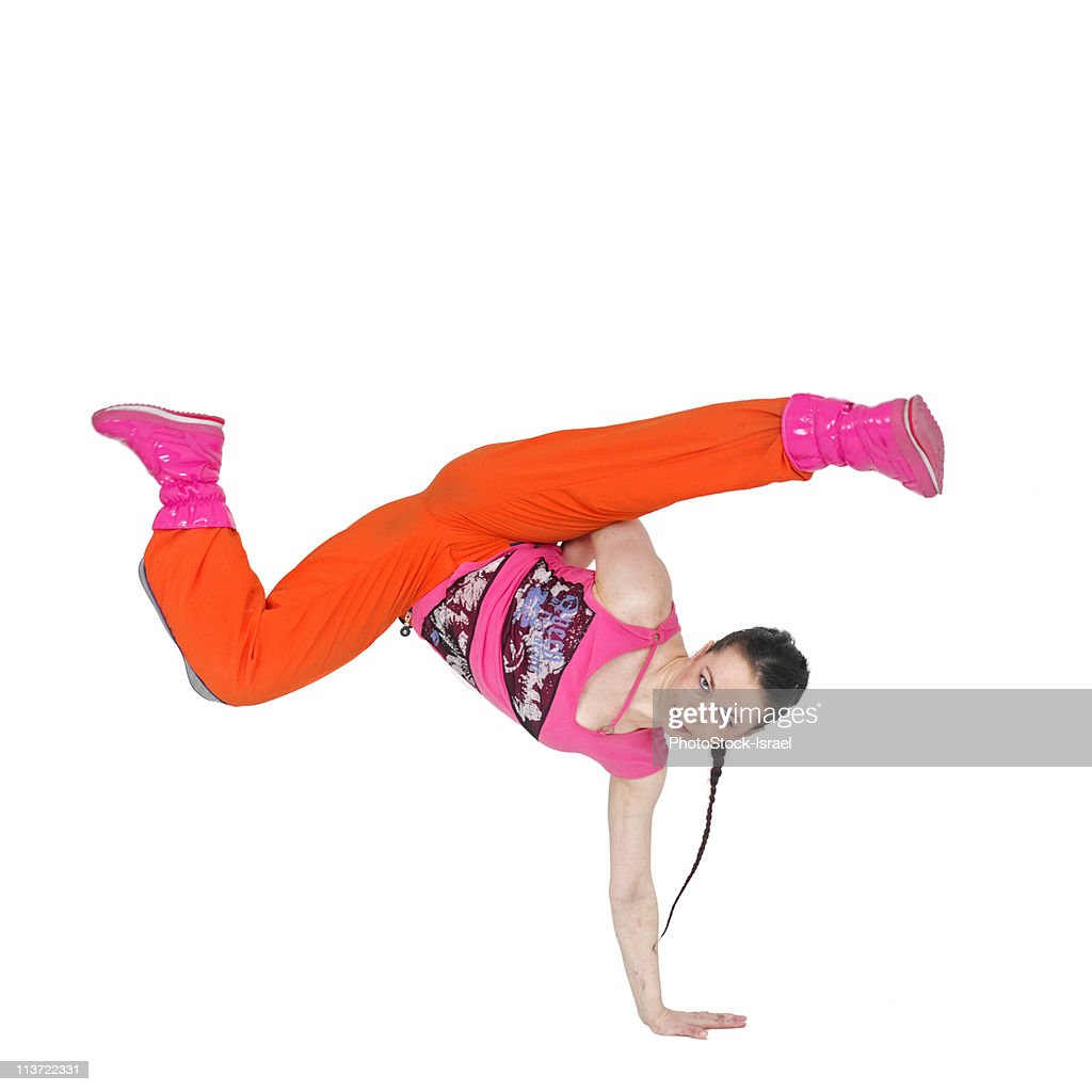 Female Hip Hop Dancer Stock Photo | Getty Images