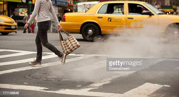 Femmina a New York street