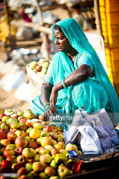 Female Indian Vendor