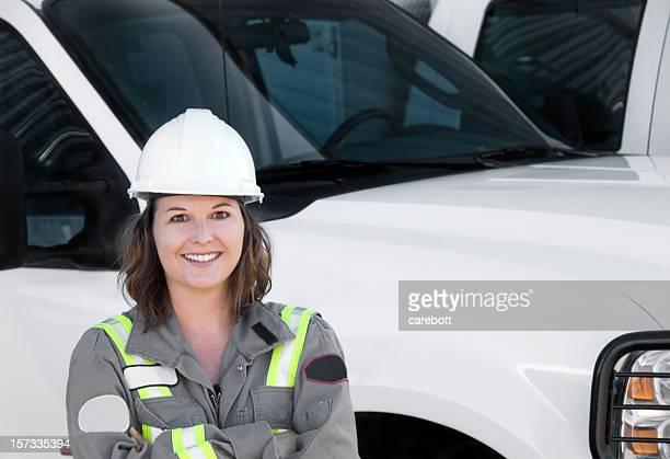 Female Industrial Worker Series