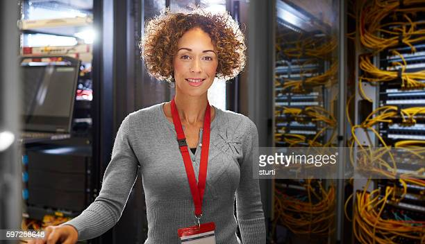 Female IT engineer
