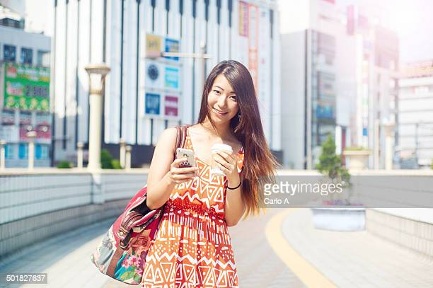 Female Japanese teen