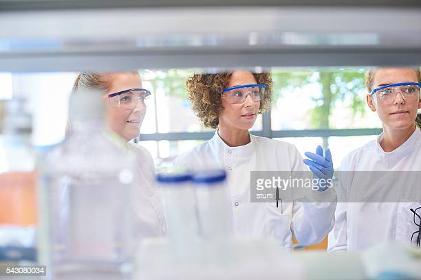 female lab workers