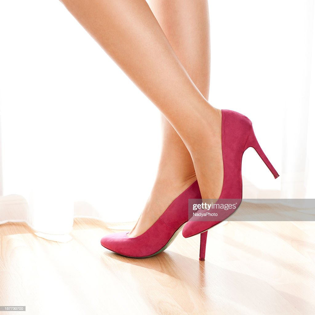 Female Legs With High Heels