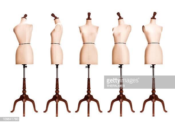 Femme mannequin torse