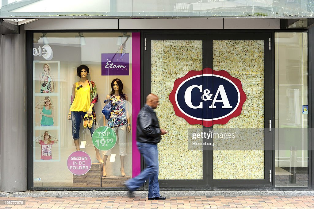 Female mannequins are seen in the window of a C&A store, operated by the C&A Group, in the Dutch city of Amsterdam, Netherlands, on Tuesday, May 14, 2013. Euro-area data this week will probably reveal economic scars of the sovereign debt crisis confirming that the region is now suffering the longest recession since the single currency's creation. Photographer: Jock Fistick/Bloomberg via Getty Images