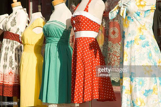 Female Mannequins In Sundresses