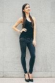 Female Model, Full Lenght Portrait