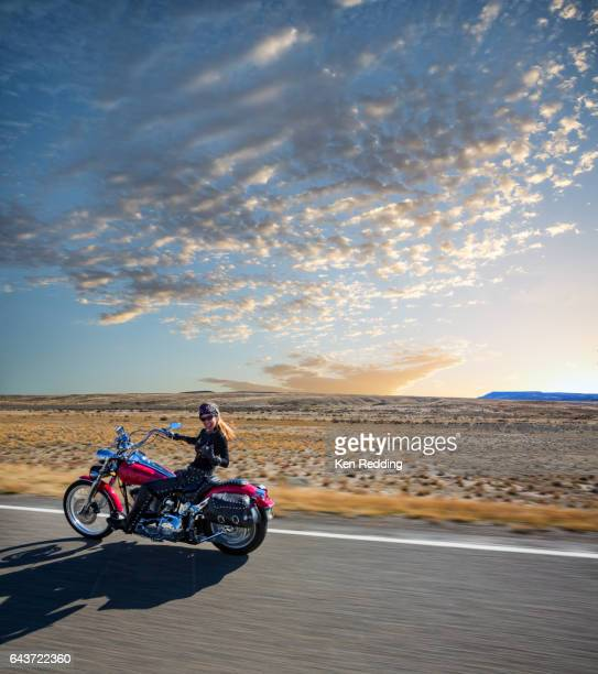 Female Motorcycling