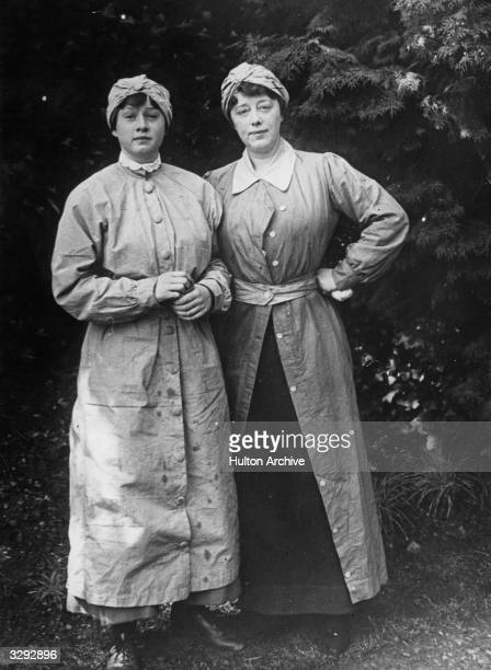 Female munition workers in Erith Kent during World War I