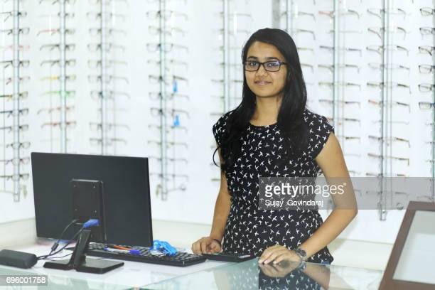 Female Optician