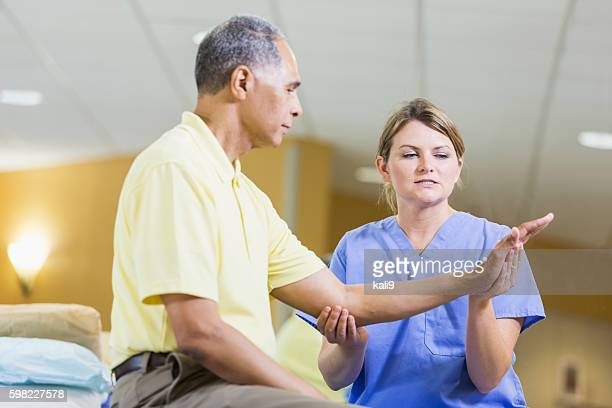 physical therapist dating a patient Rheumatoid arthritis is a chronic  (see patient education: rheumatoid arthritis  should be designed by a physical therapist and tailored to.