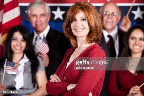 Female Politician