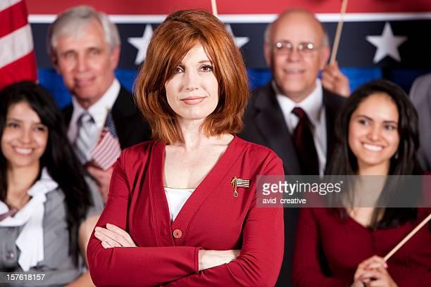 Female Politician Portrait