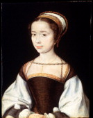 'Female Portrait' 1530s Found in the collection of the State Hermitage St Petersburg